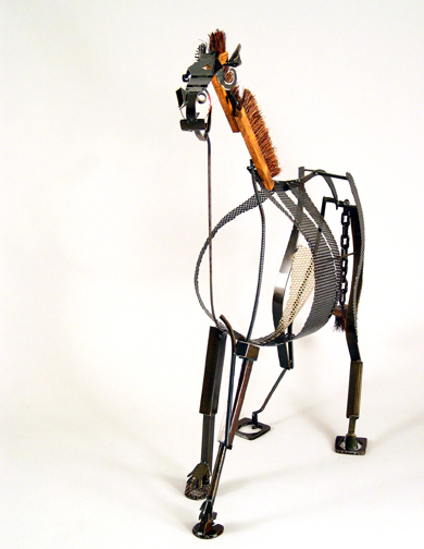 Sculpture :: Wire :: Art :: Steel :: Figurative :: Figure :: Equestrian :: Horse :: Equine :: Bronze :: Public :: Corporate :: Plaza :: Lobby :: Lisa Fedon :: Artist :: Designer