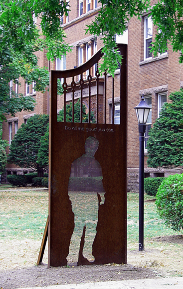 Lisa Fedon / Public Art - LIFE VALUES, Wyoming Seminary, Kingston, PA